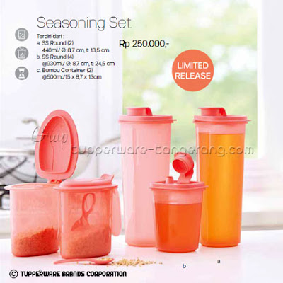 Seasoning Set Promo Tupperware April 2016