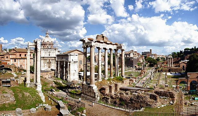 Romano Forum - Rome, Italy