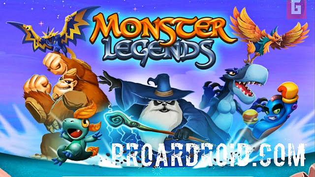 لعبة Monster Legends – RPG v7.2 كاملة للاندرويد (اخر اصدار) logo