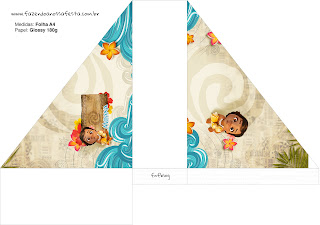 Moana Baby Free Printable Napkin Holder