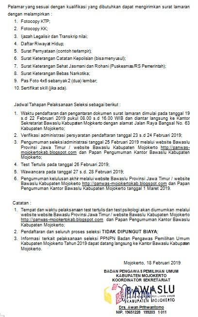 Contoh Surat Pernyataan Sehat Kpps Suratmenyuratnet