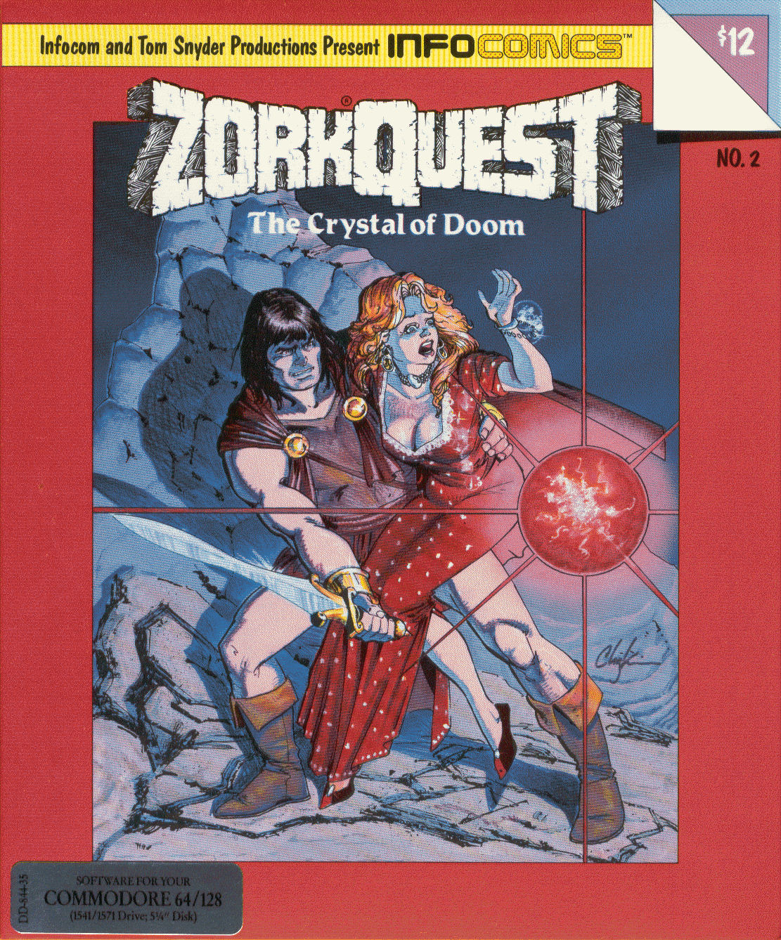 Archeogaming: ZorkQuest: First Interactive Comic ever?