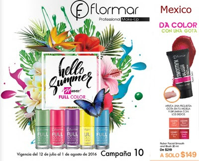 flormar campaña 10 2016 mexico