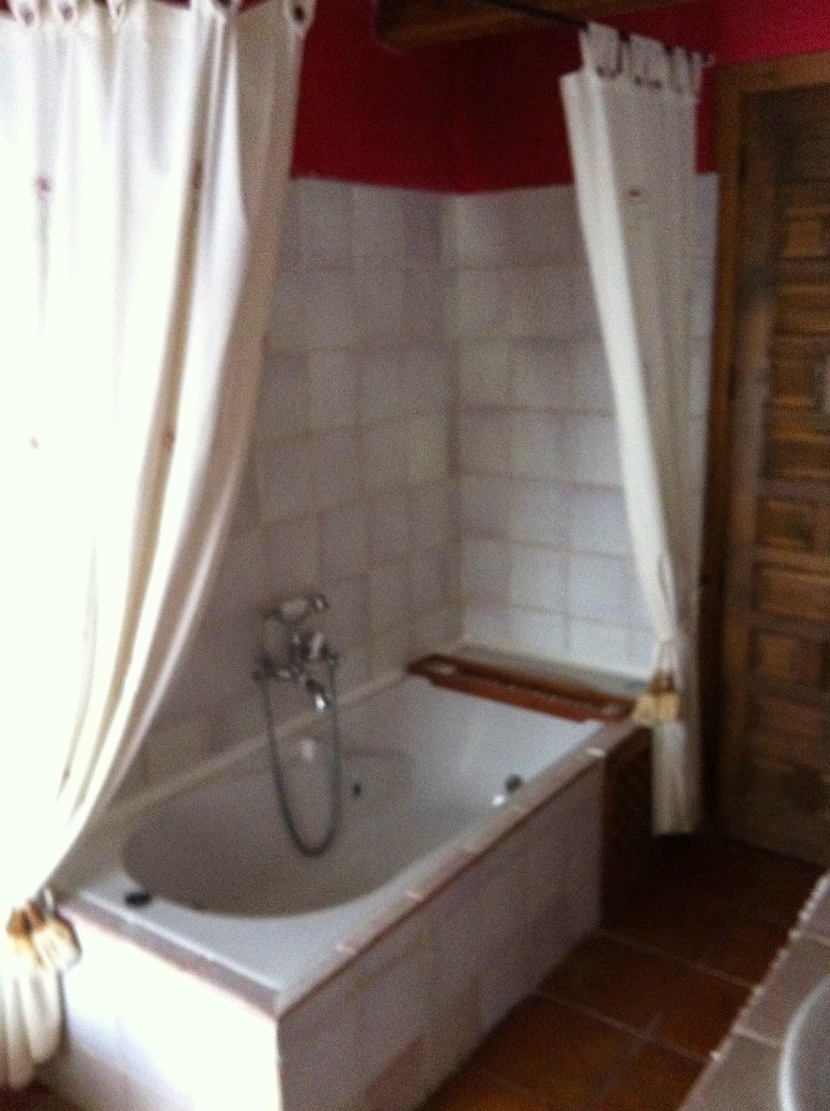 baño habitacion hotel rural cuenca