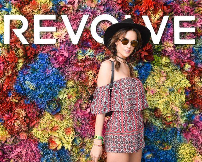 Alessandra Ambrosio – REVOLVE Festival at 2017 Coachella in Indio
