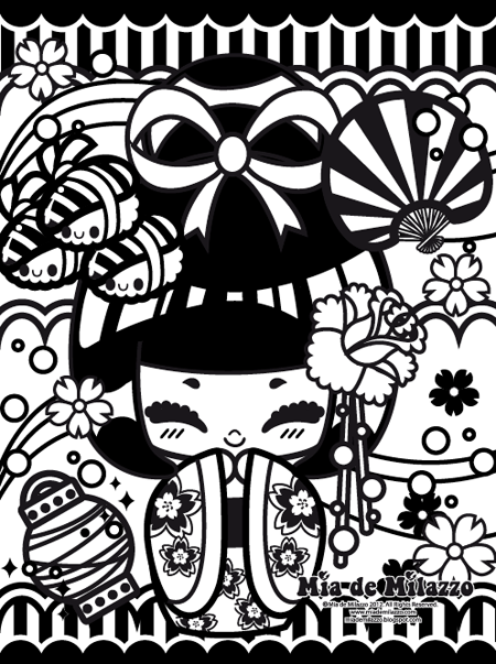 Dibujos Cute Para Colorear