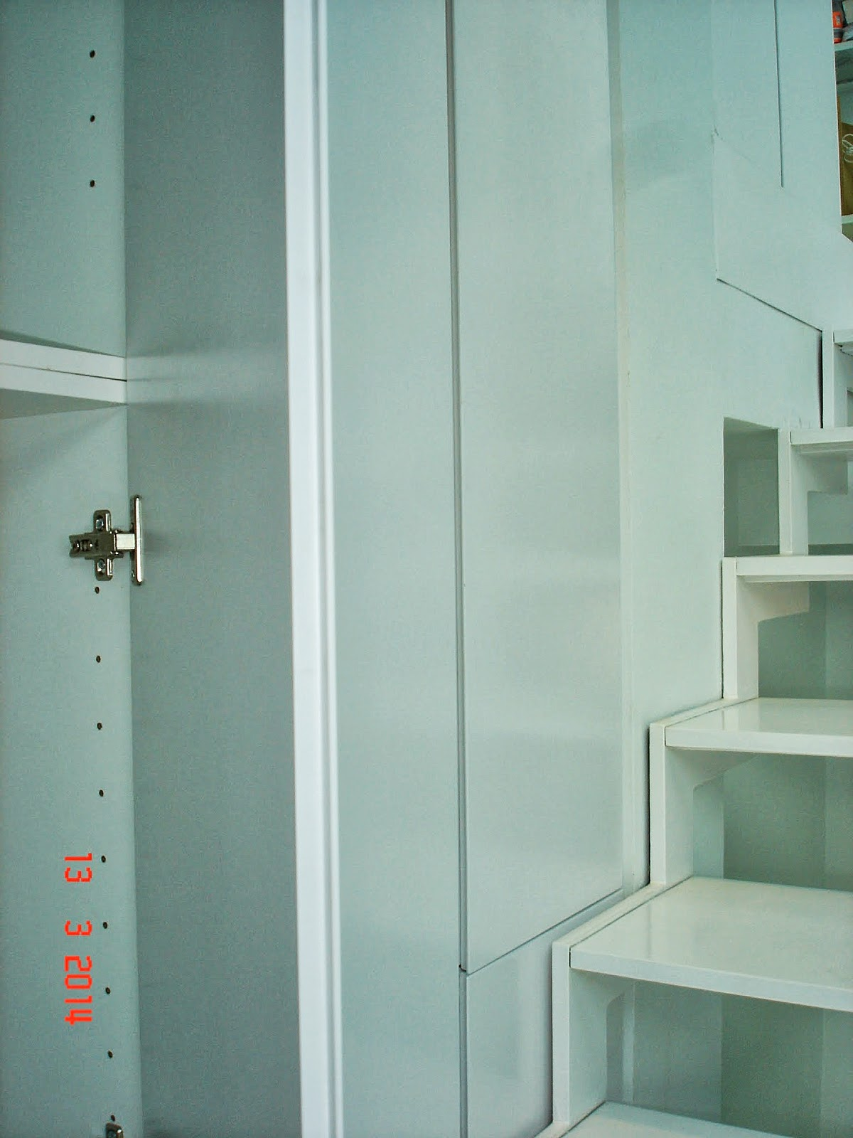 Carpinteria sevilla librer a con puertas lacadas - Librerias lacadas ...