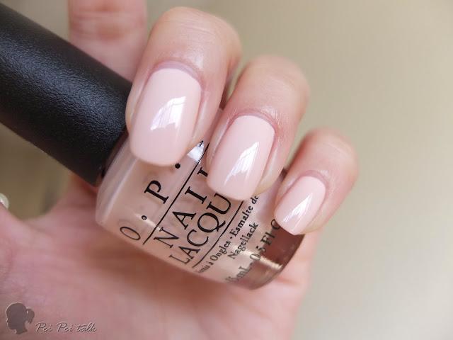 OPI指甲油-NLT74-Stop it I'm Blushing!