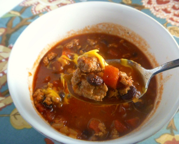 11 Best Dishes of 2018 - Spicy Turkey Chili - Slice of Southern