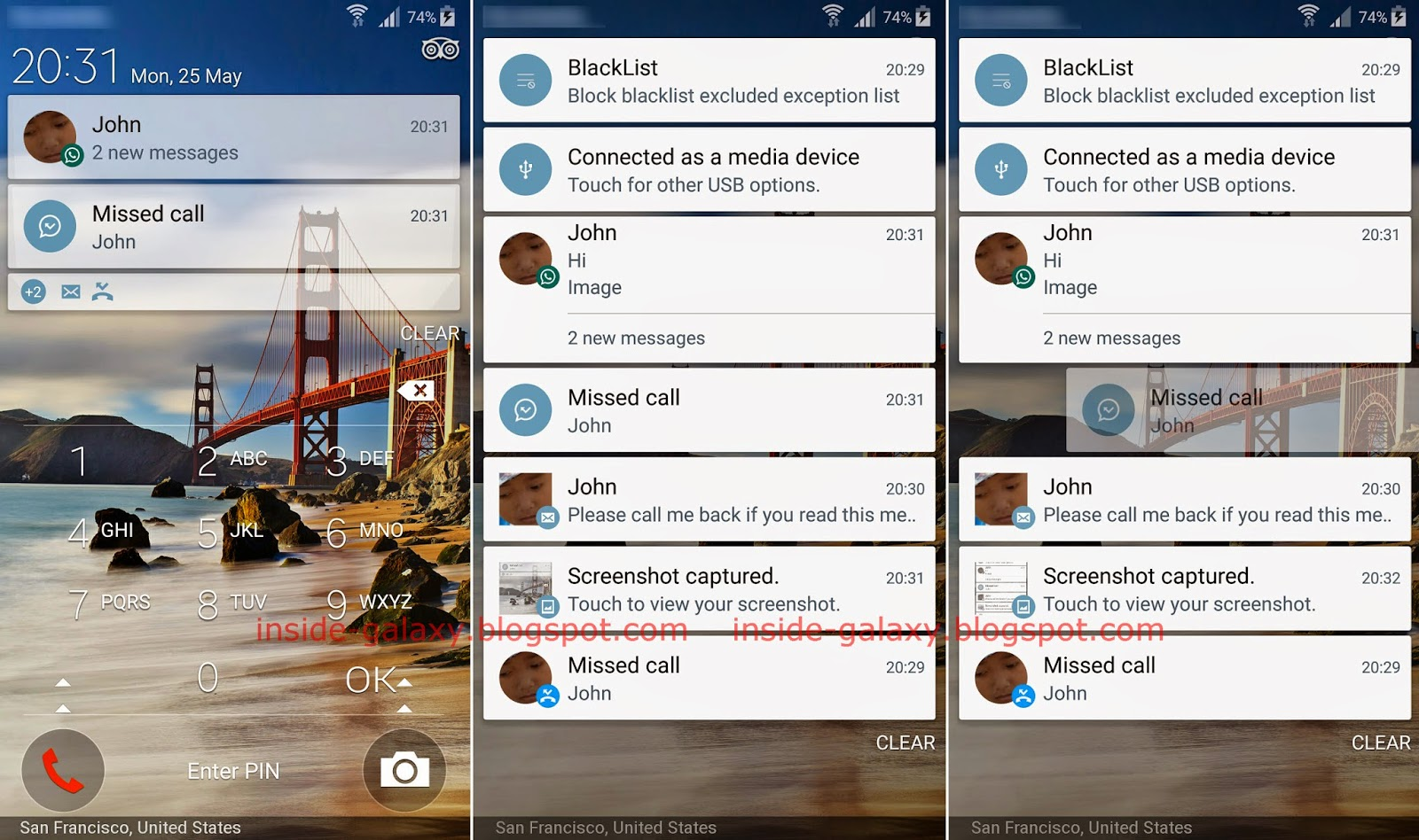 How to hide the contents of sensitive notifications, on your