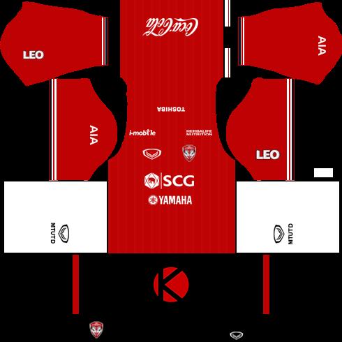 Muangthong United Kits 2017 | Dream League Soccer