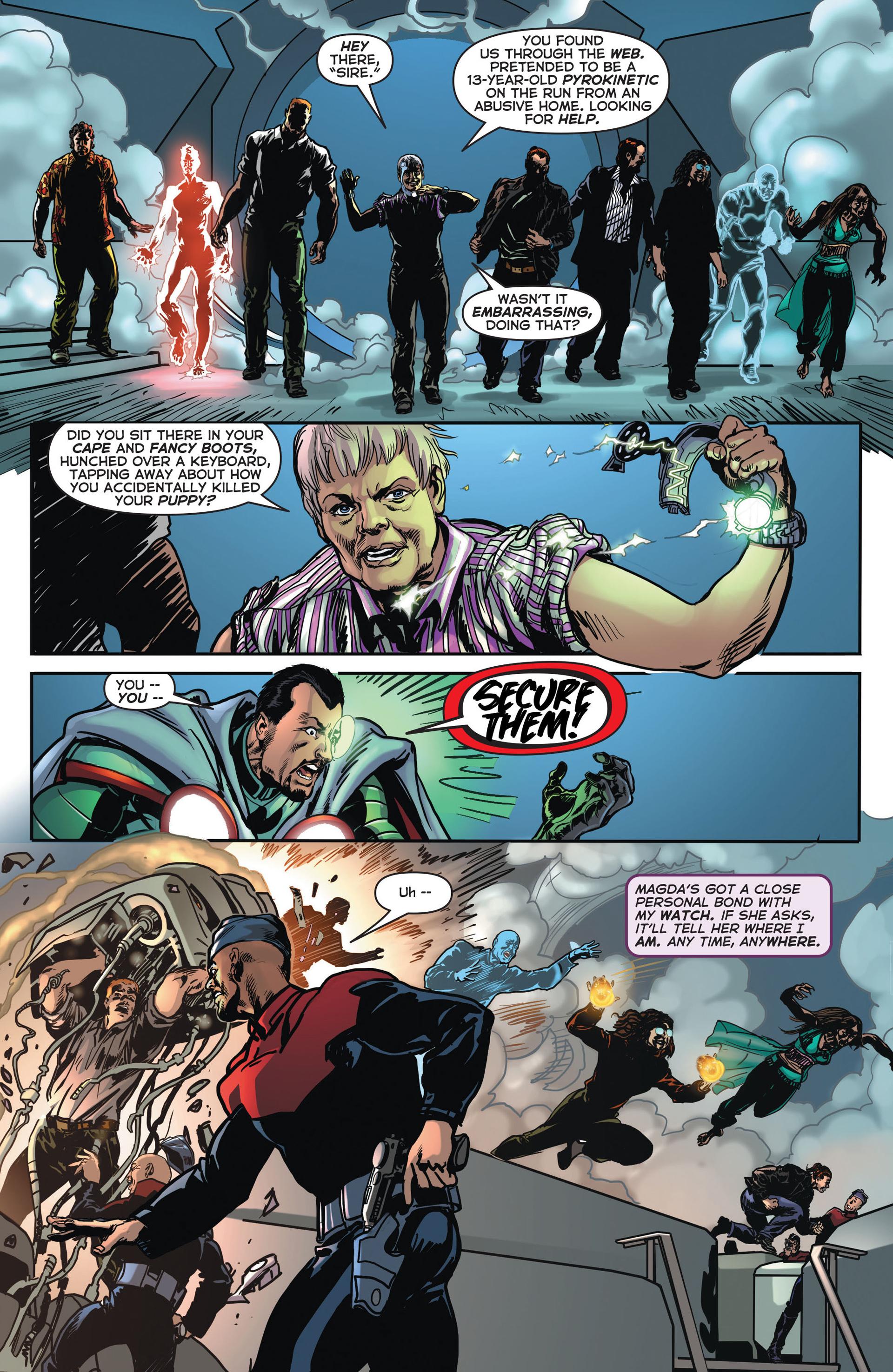 Read online Astro City comic -  Issue #4 - 19