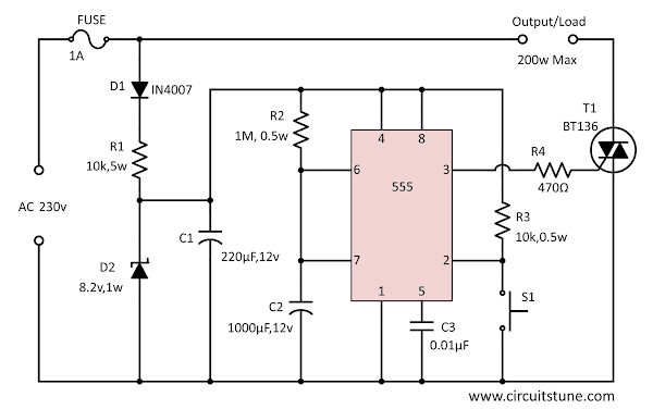 Electronic Schematic Circuit Diagram - CircuitsTune