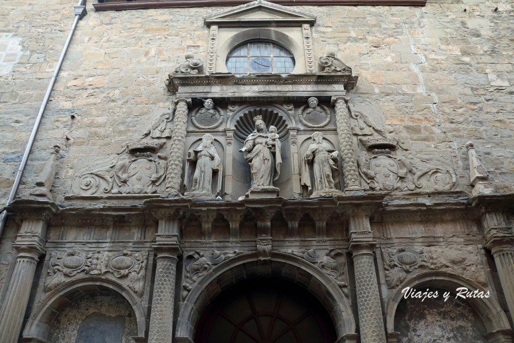 Iglesia del Carmen. Jaca