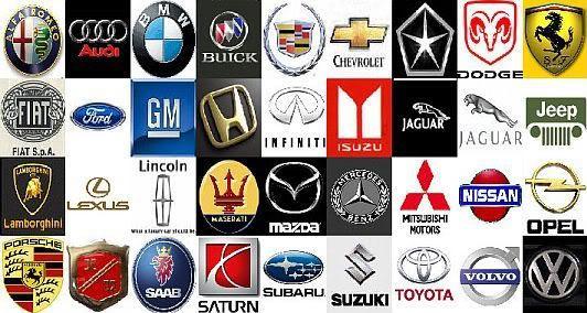 logos emblems auto cars collage automobile names automotive brand wallpapers vehicles symbol trends