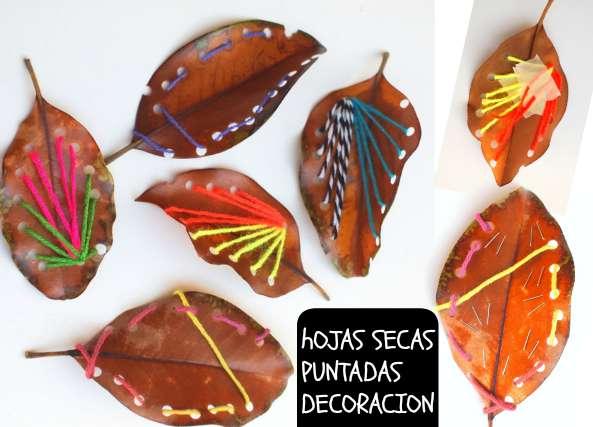 decoracion otoño con hojas muertas, otoño hogar, manualidades