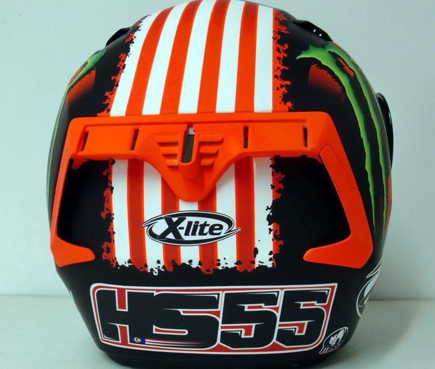 "Nolan X-lite X-803 ""Hafizh Syahrin HS55"" Monster Energy MotoGP Helmet"