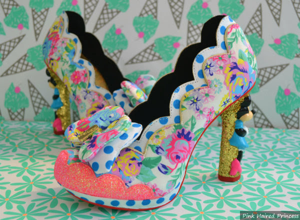 irregular choice minnie mouse sherbet ice cream shoes
