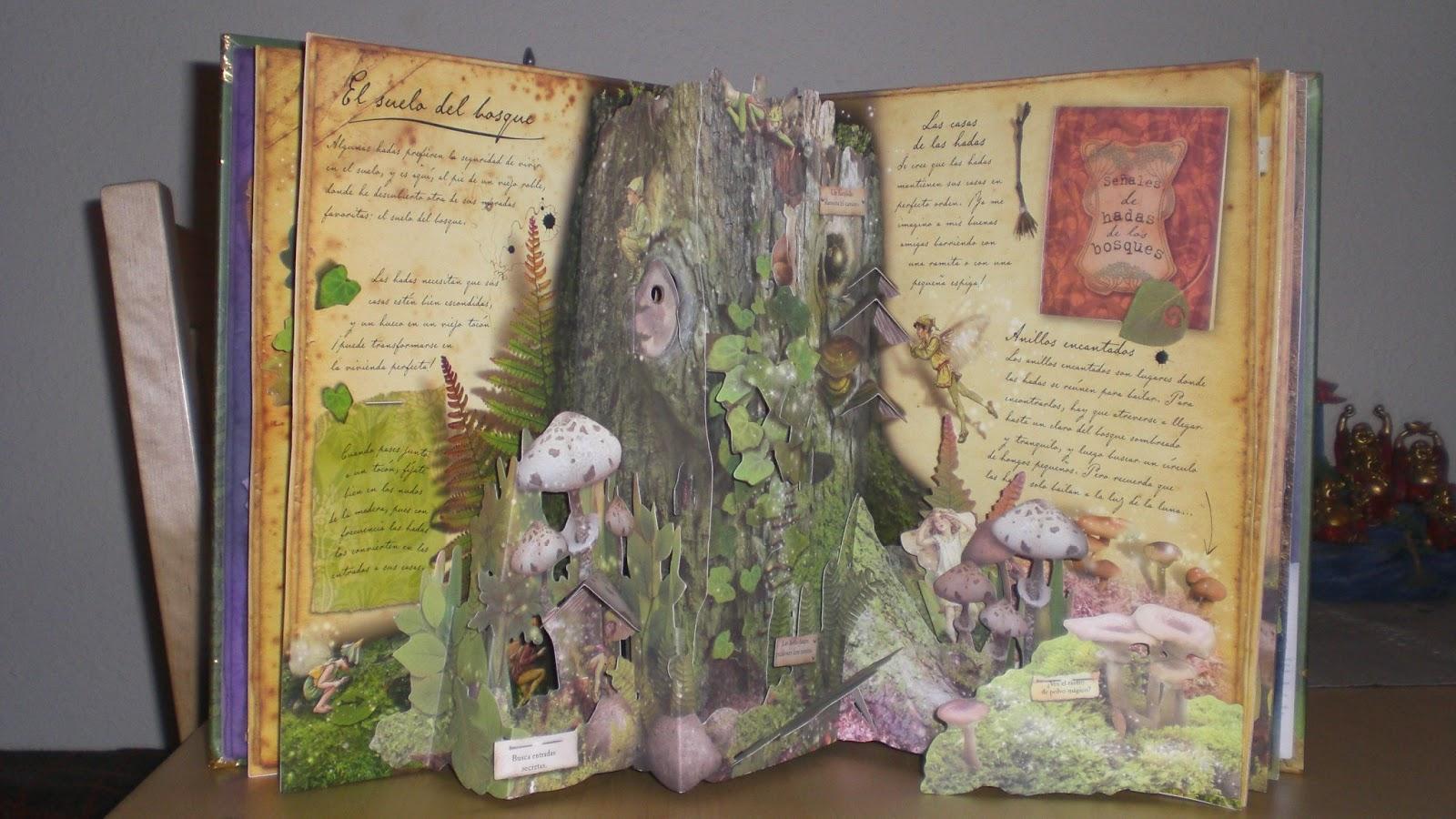 Brownie y sus cosas las hadas flores rincones secretos - Escondites secretos en casa ...