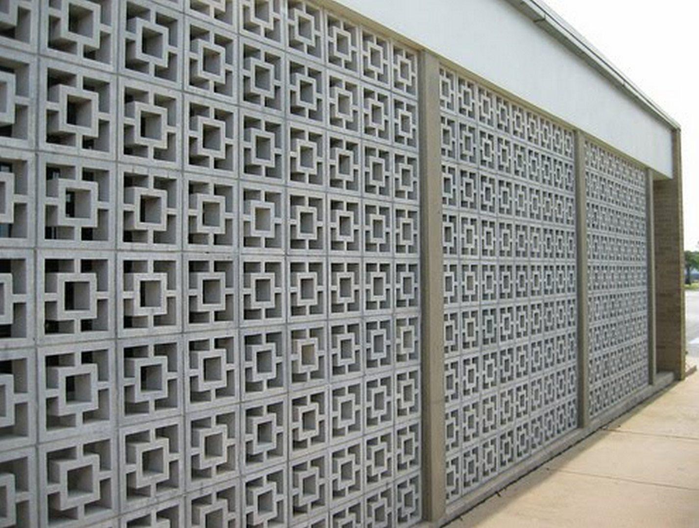 decorative concrete blocks home depot
