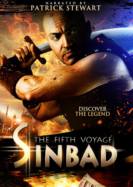 Poster Of Sinbad The Fifth Voyage 2014 720p HDRip Hindi Dubbed Full Movie
