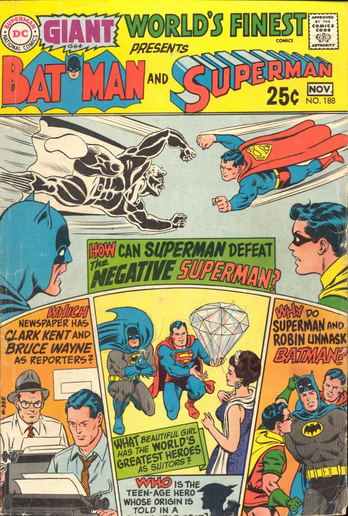 Read online World's Finest Comics comic -  Issue #188 - 1
