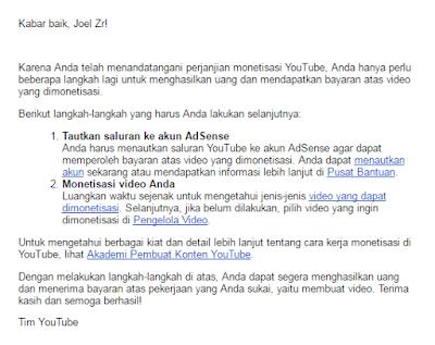 Cara menautkan saluran youtube ke akun AdSense