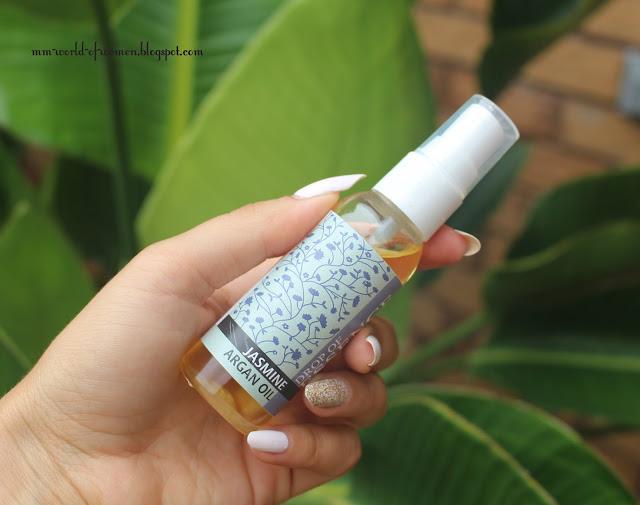 Olejek arganowy o zapachu jaśminu.