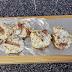 Cogumelos Shiitake recheados com queijo e bacon