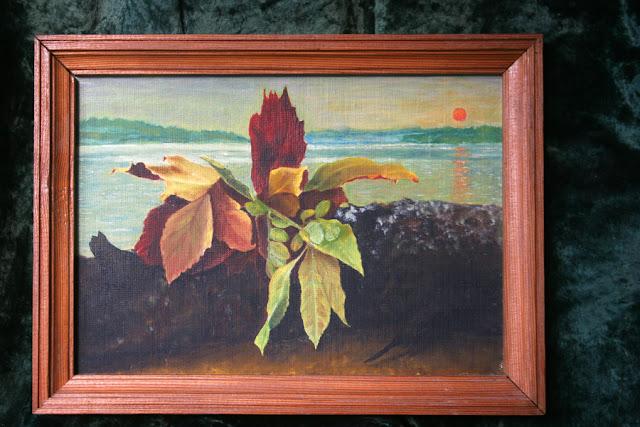 картина Виталия Бабенко: осенний букет