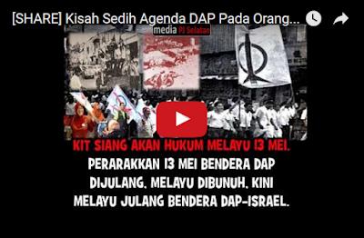 Kisah Sedih Agenda DAP Pada Orang Melayu