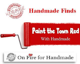 On Fire For Handmade Finds - Painting The Town Red 2019-01