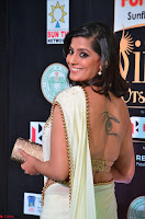 Varalakshmi in Cream Saree Sleeveless Backless Deep Neck Choli at IIFA Utsavam Awards March 2017 017.JPG