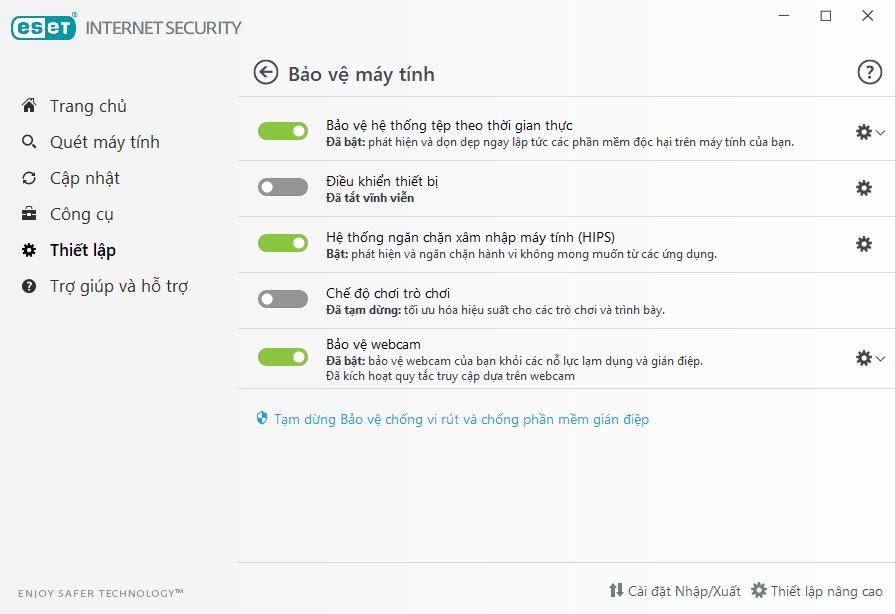 Bảo vệ máy tính