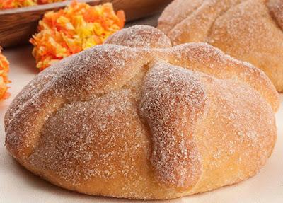 pan de muerto azucarado