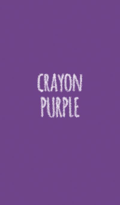 Crayon purple 1 / circle