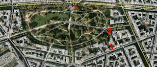 Plan du Parc Monceau Paris