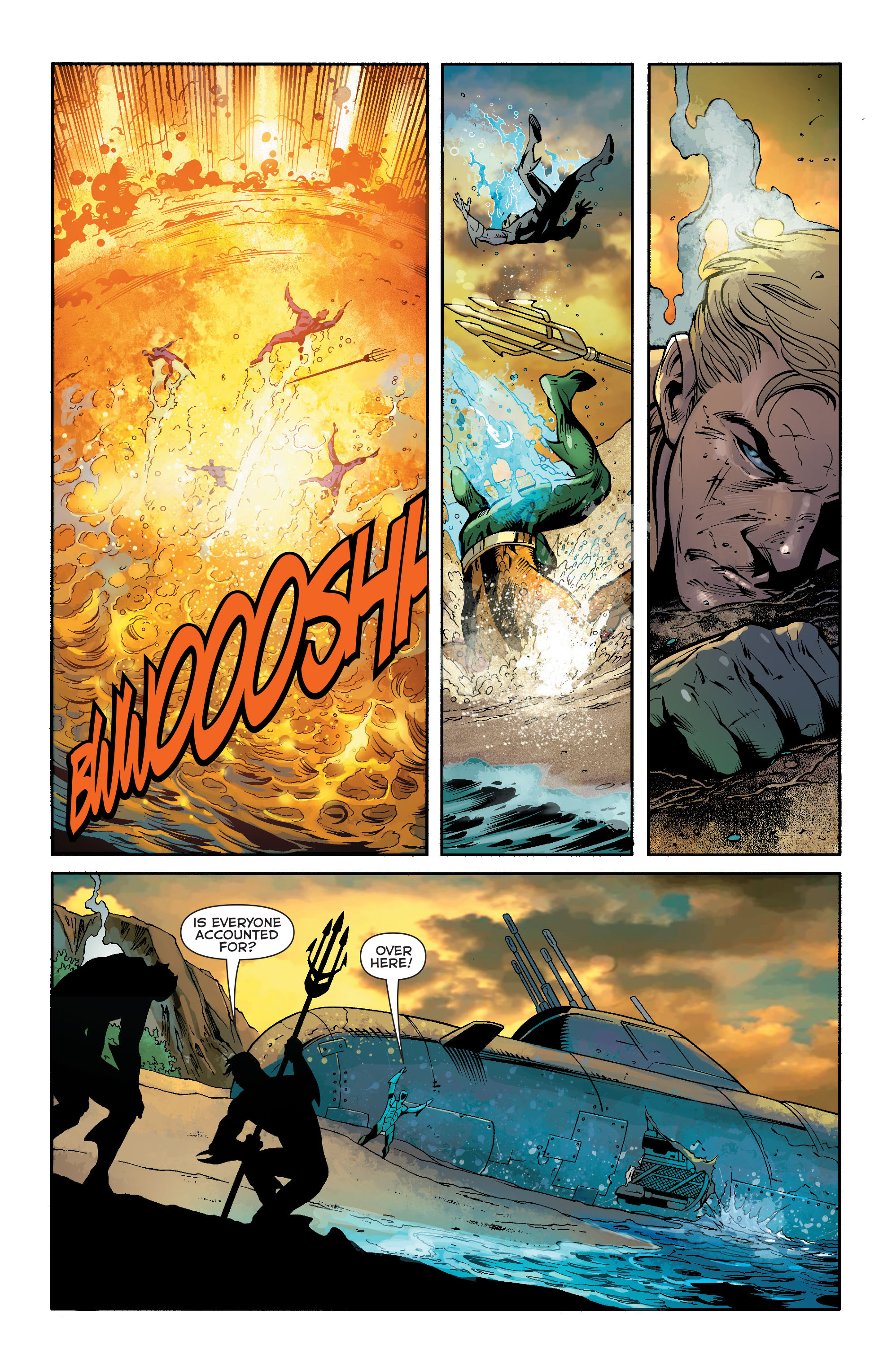Read online Aquaman (2011) comic -  Issue #19 - 18