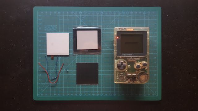 retroiluminacion gameboy pocket