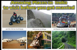Amazing Places in India to visit before you get married,  Trips to Take Before You Get Married in india, Must Visit Destinations in India Before You Get Married, places to travel before 30, adventure trip packages in india, adventure tourism places in india, adventure tour packages, mountain trekking tips and tricks, india tour packages with prices,low price holiday packag