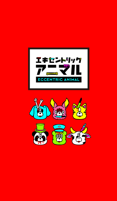 ECCENTRIC ANIMAL / POP color
