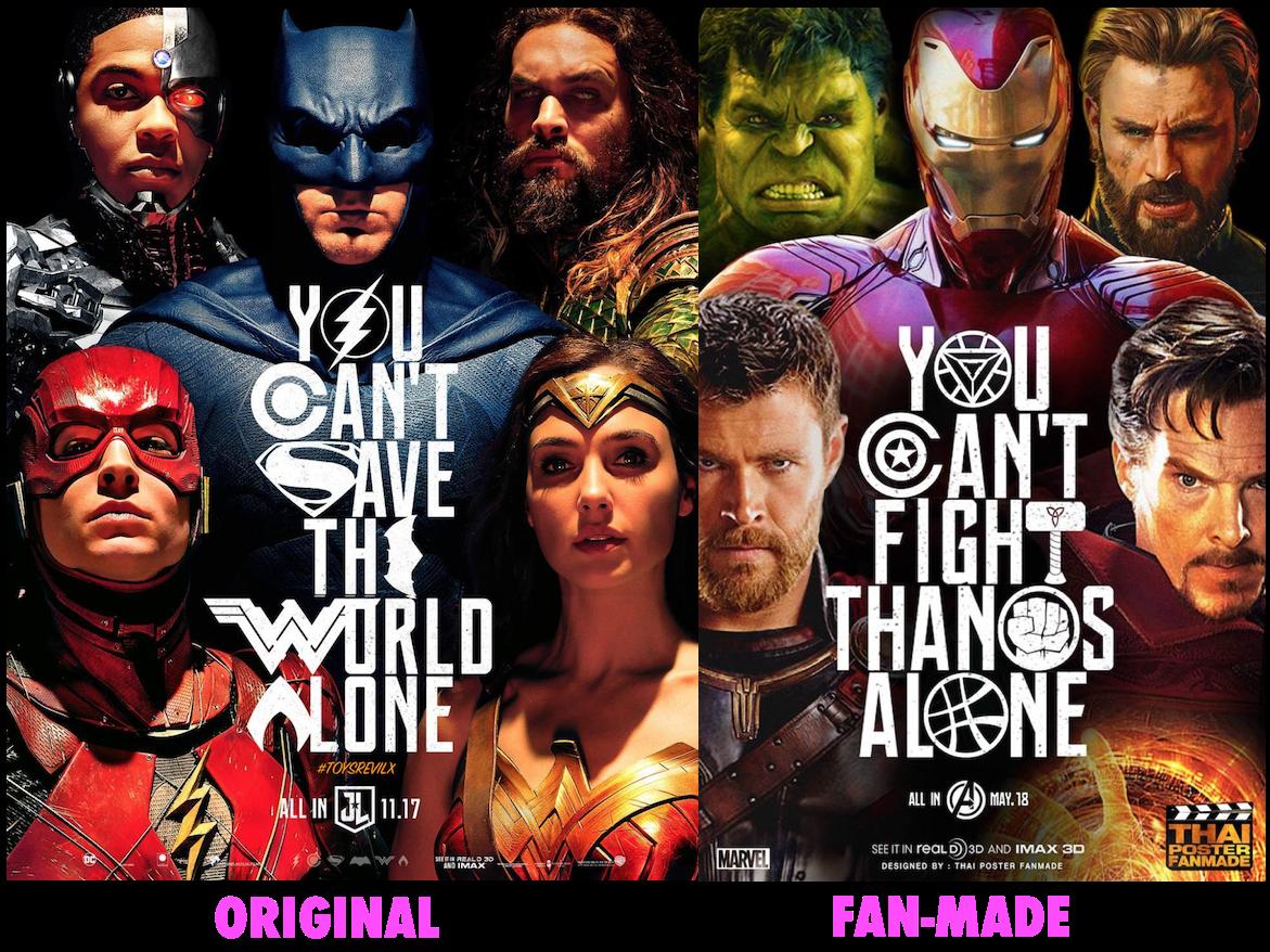 Avengers Infinity War Part 2 Vs Justice League Part 2