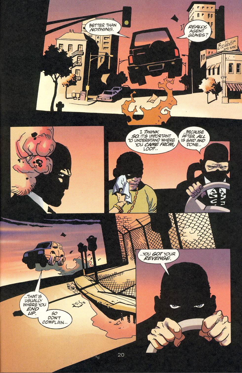 Read online 100 Bullets comic -  Issue #18 - 22