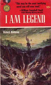 Portada original de Soy leyenda, de Richard Matheson