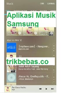 Download Aplikasi Pemutar Musik Samsung Galaxy Original Tanpa Root