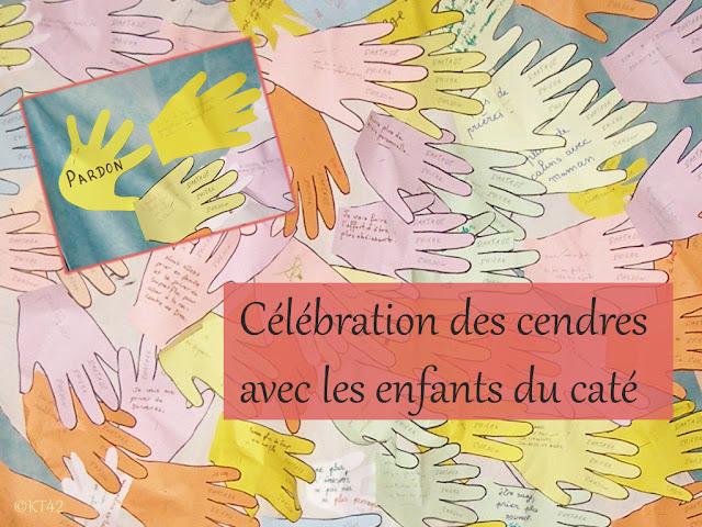 Célébration des Cendres avec les enfants et la communauté