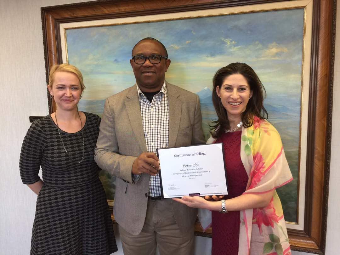 Peter Obi Grabs Another Certificate From Usa Odogwu Medias Blog