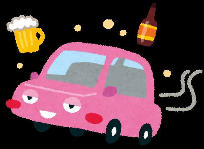 「飲酒運転 イラスト」の画像検索結果