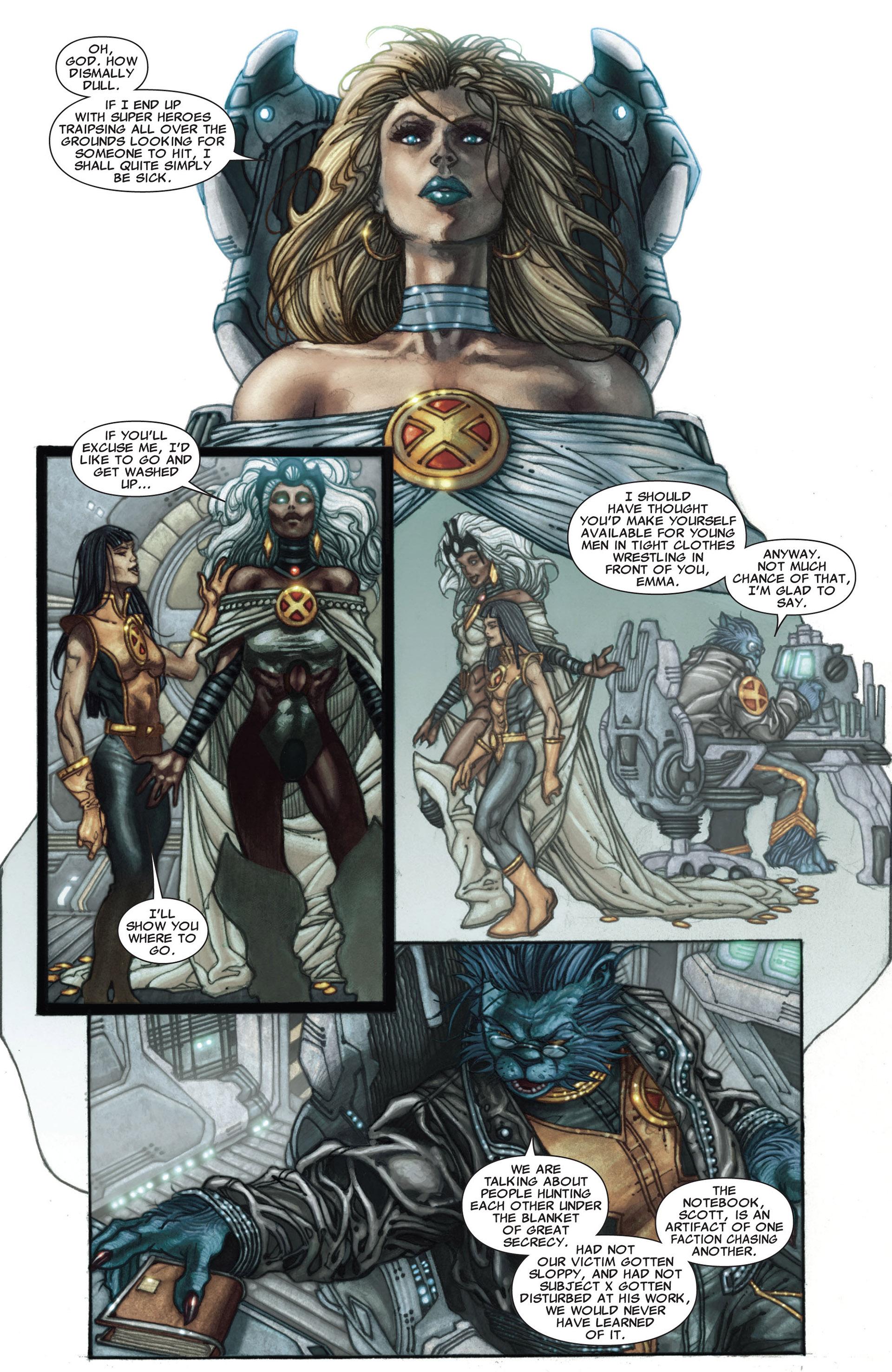 Read online Astonishing X-Men (2004) comic -  Issue #27 - 5