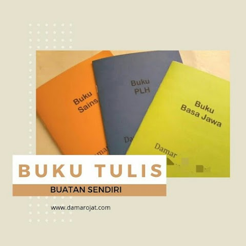 Buku Tulis Buatan Sendiri